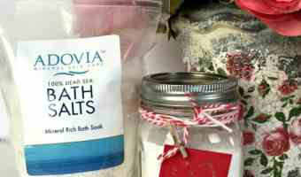 ADOVIA 100% Pure Dead Sea Salt Bath Soak