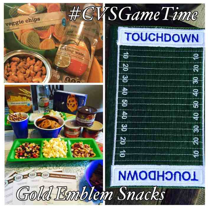 Game Day and Dad's Birthday Party!! CVS/pharmacy #GoldEmblem Snacks