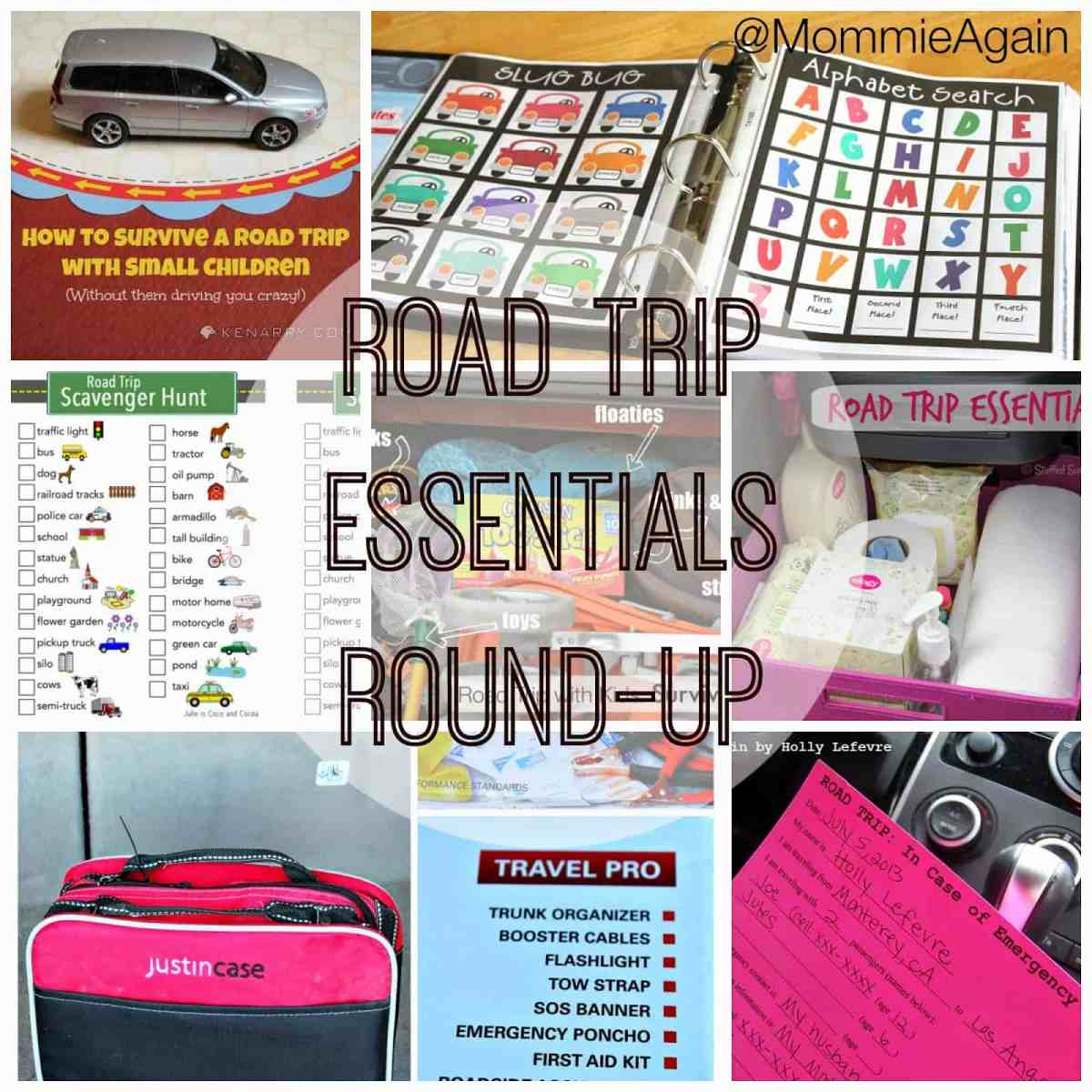 Road Trip Essentials Round-Up