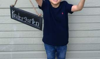 First Week of Kindergarten…Success!!!