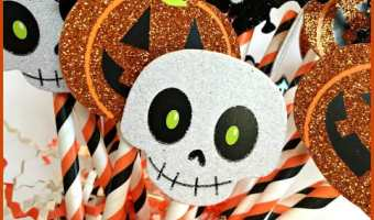 A Simple DIY Halloween Paper Craft (only 3 items used)
