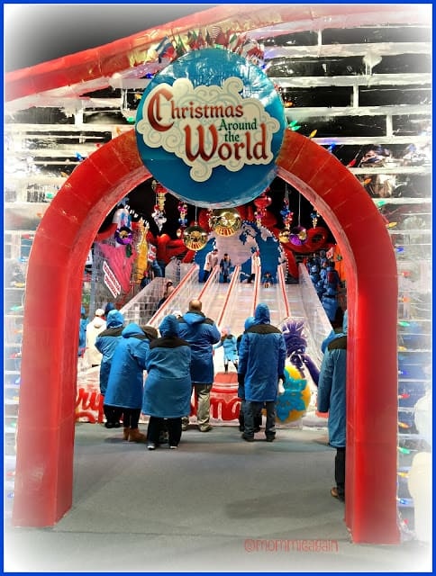 Gaylord Texan ICE! Presents Christmas Around The World