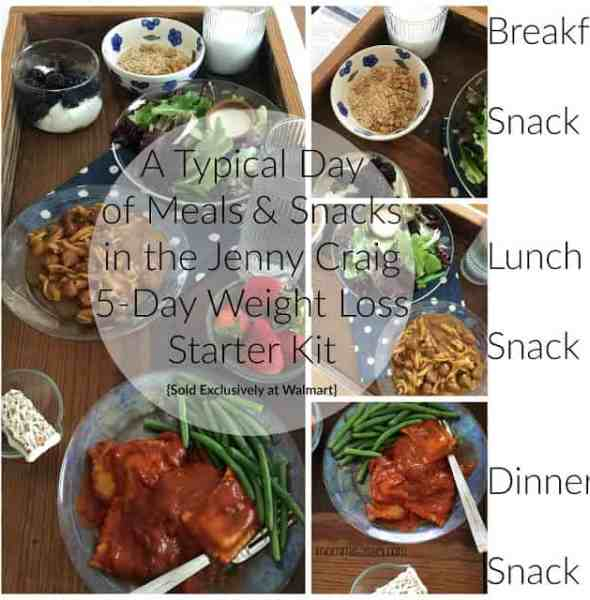 Take that First Step with Jenny Craig 5-Day Weight Loss Starter Kit