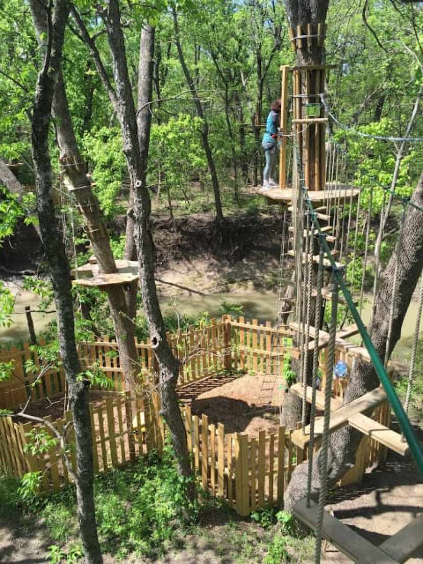 Go Ape! Treetop Adventure...NOT for Sissies - Dallas, TX