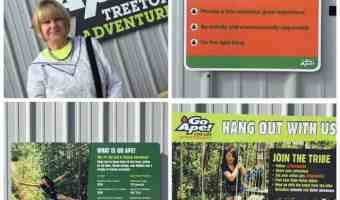 Go Ape! Treetop Adventure…NOT for Sissies – Dallas, TX