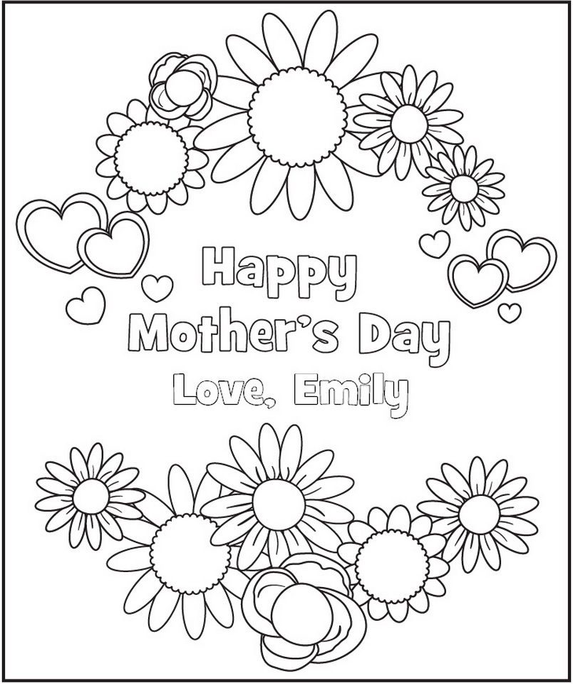Printable Coloring Sheets For Kids