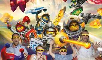 LEGO® NEXO KNIGHTS™ LEGOLAND® Discovery Center Dallas/Fort Worth – All New 4D Movie Experience!!