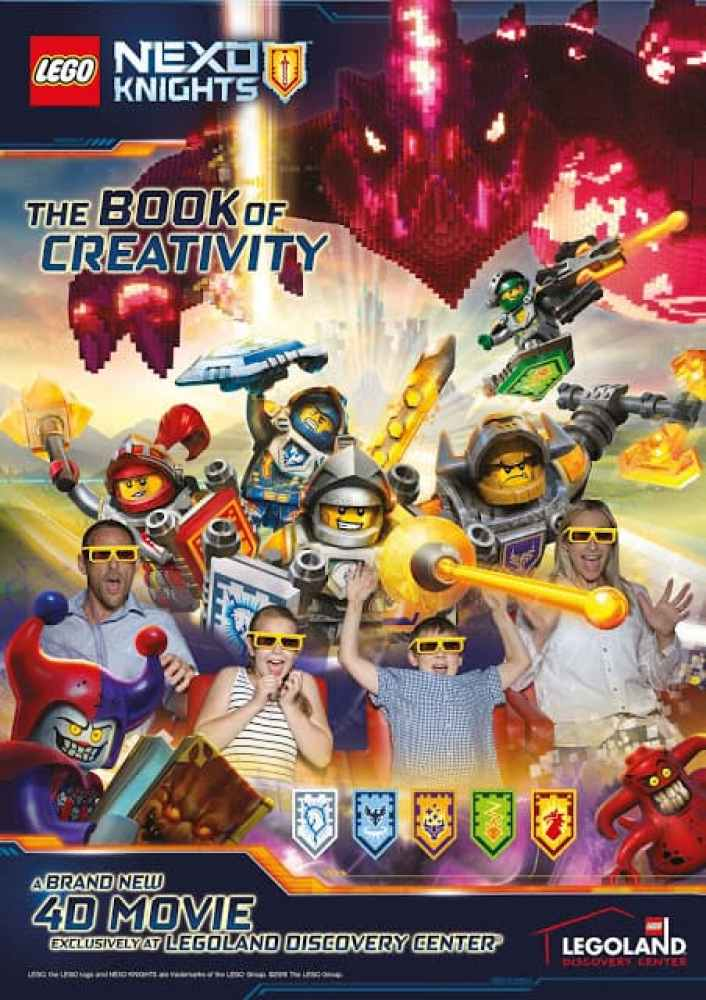LEGO® NEXO KNIGHTS™ LEGOLAND® Discovery Center Dallas/Fort Worth - All New 4D Movie Experience!!