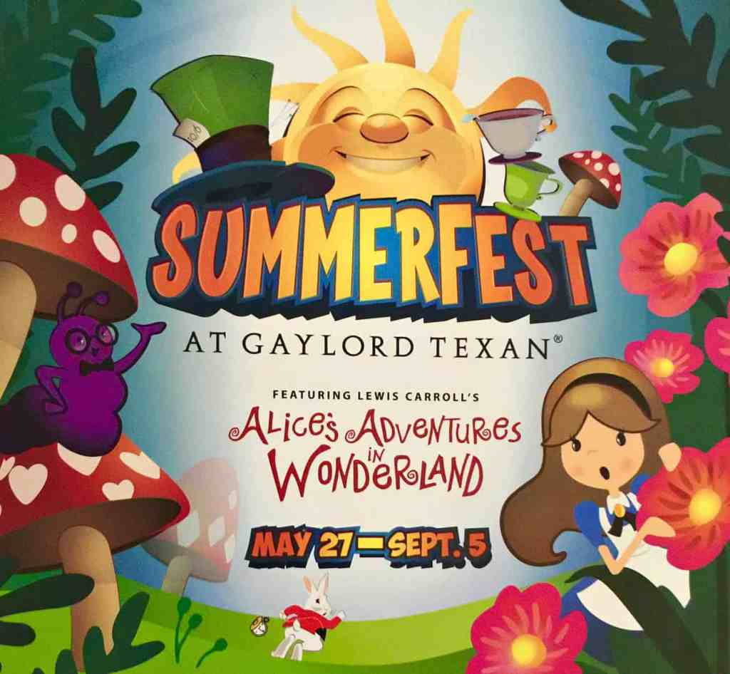 Gaylord Texan 13th Annual SummerFest 2016 now - Sept 5