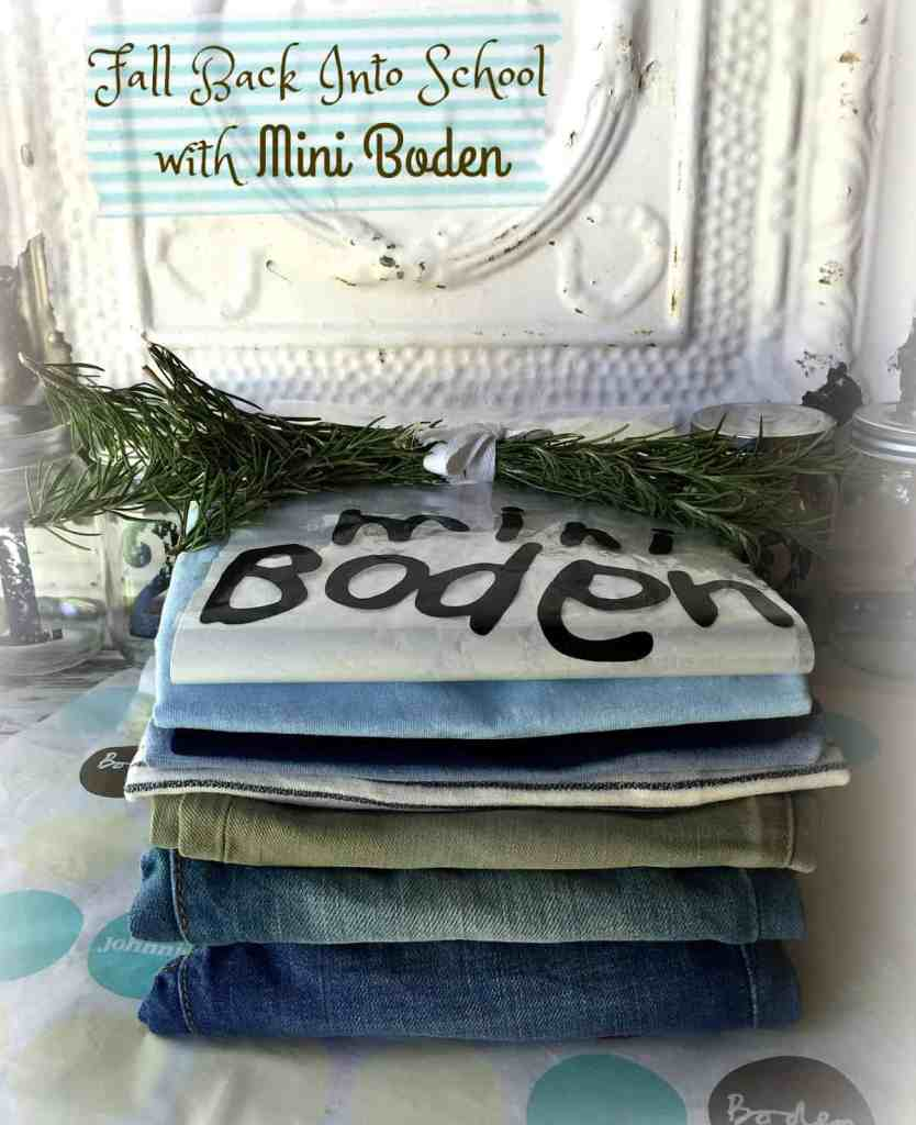 Mini Boden Back To School Line 2016