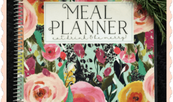 Plan Meals with this Meal Planner by Carrie Elle