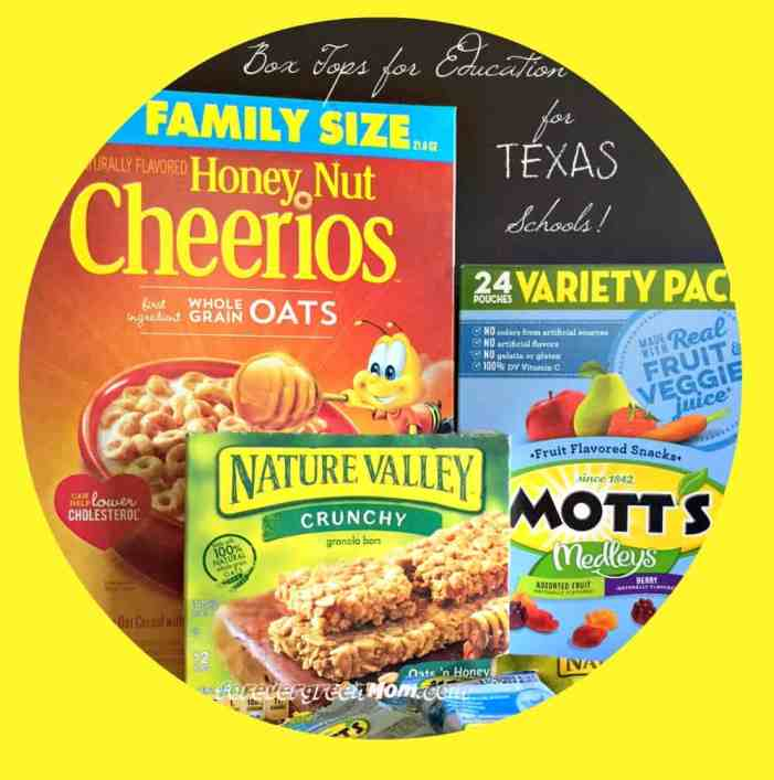 Box Tops for Education for Texas Schools
