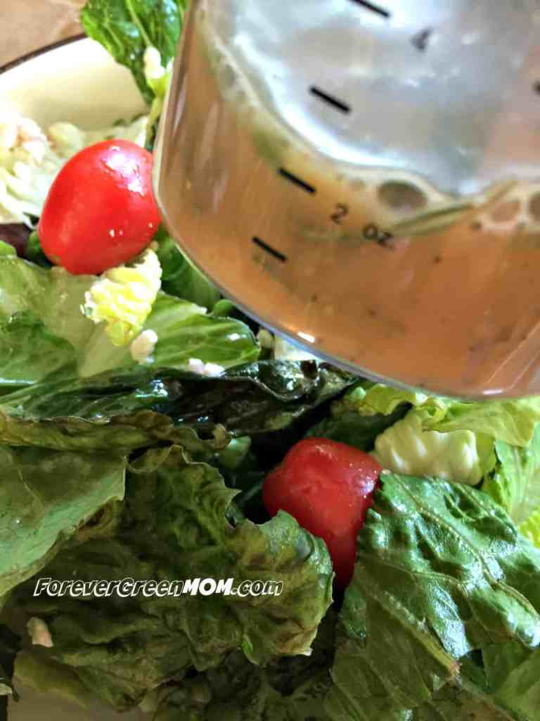Rosemary Homemade Salad Dressing