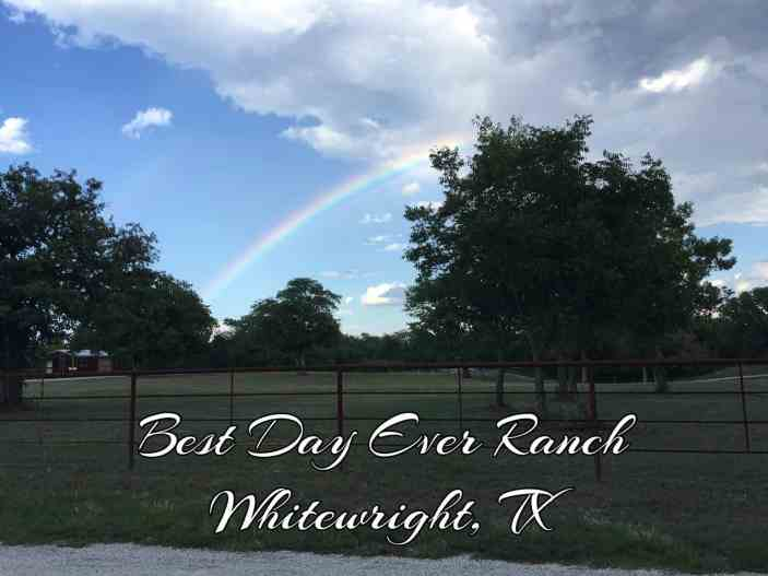 Our Best Day Ever Ranch Weekend in Northeast Texas