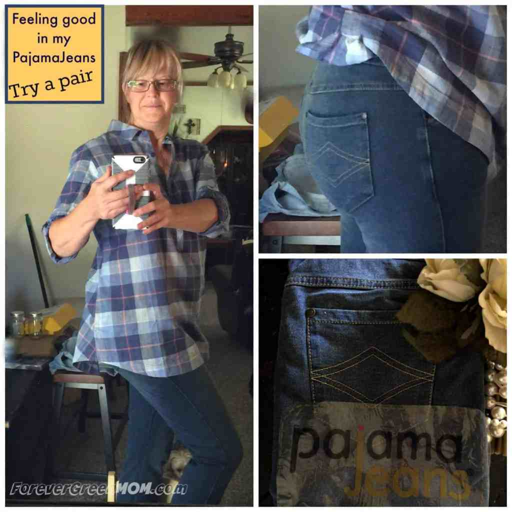 The Best Denim Look Lounge Pants with Curve! PajamaJeans