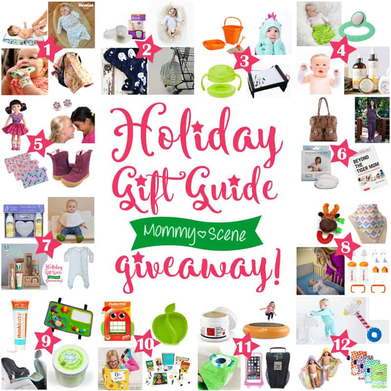 12 Days of Christmas Giveaway for Baby & Mommy