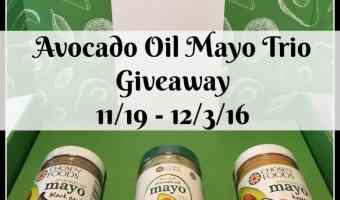 Chosen Foods New Avocado Oil MAYO Trio Giveaway – Ended