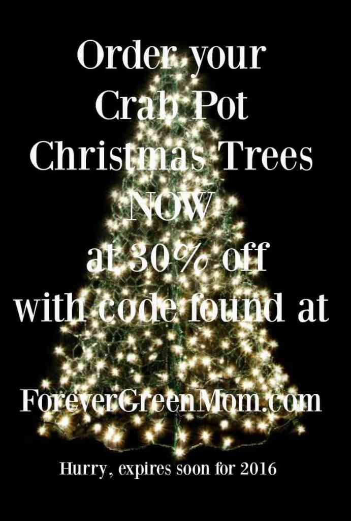 Crab Pot Christmas Trees 30% Off