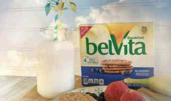 Easy Morning Meals with belVita Breakfast Biscuits