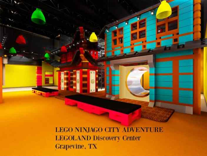 Test Your Ninja Skills at LEGOLAND® DISCOVERY CENTER