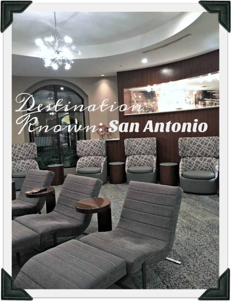 Destination Known: San Antonio