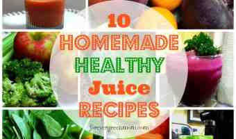10 Homemade Healthy Juice Recipes