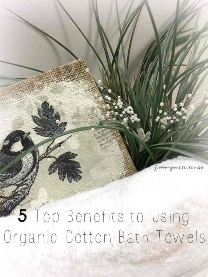 5 Top Benefits Using Organic Cotton Towels