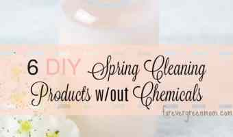 6 DIY Spring Cleaning Products without Chemicals