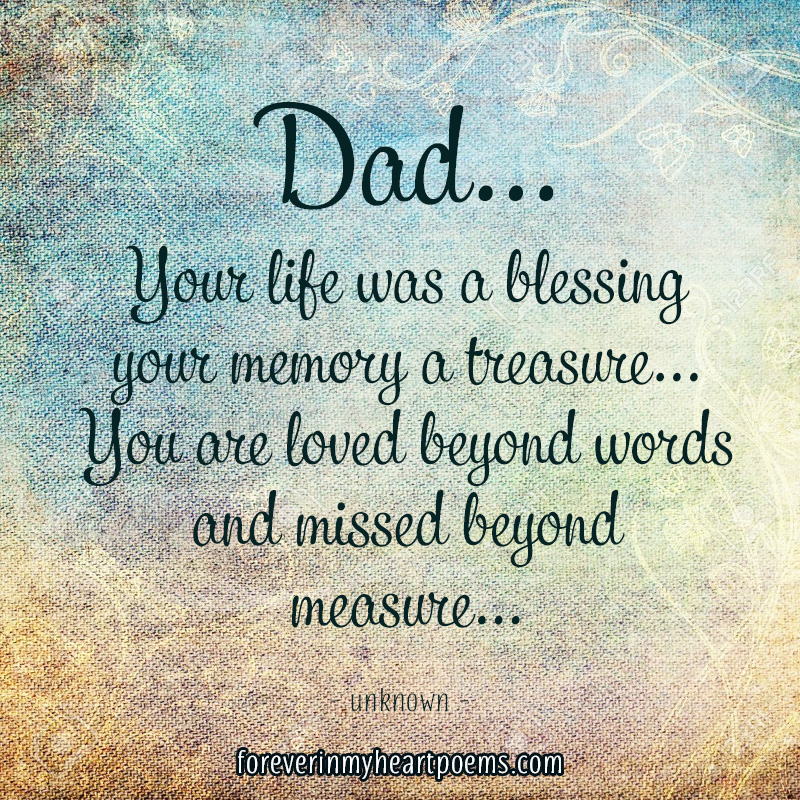 Top 10 quotes to Remember a Father - Forever In My Heart ...
