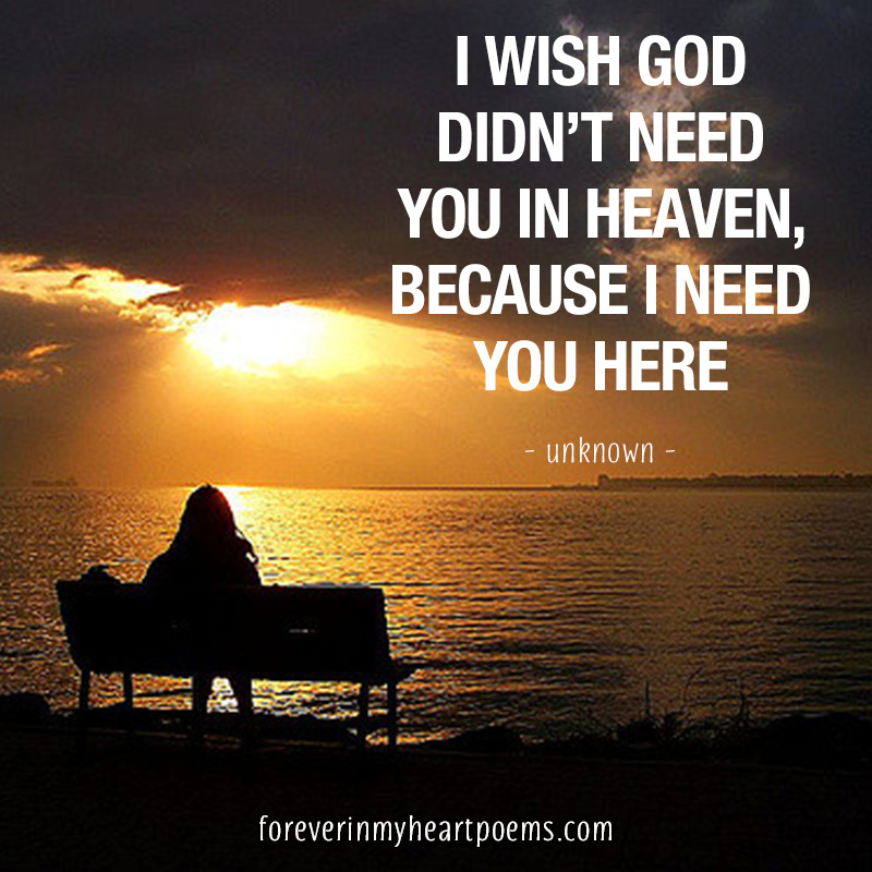 In Heaven Quotes Miss You: 15 Best Missing Mom Quotes On Mother's Day