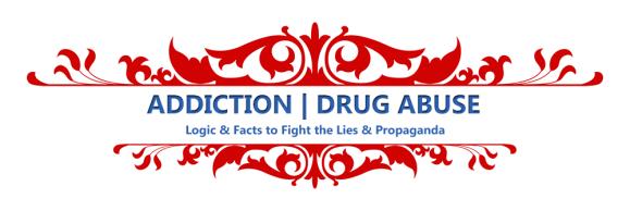 ADDICTION | DRUG ABUSE – Facts & News Links