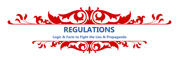 Feel free to copy and paste these Regulations related social media clips. They're all under 140 characters so they will work on Twitter.