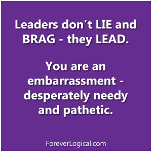 Leaders don't tweet about their problems, they DEAL with them.
