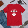 Beard mockup Front Flat Lifestyle Red