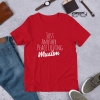 Just another peace loving muslim mockup Front Flat Lifestyle Red