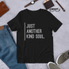 Kind Soul Design 001 DarkColor mockup Front Flat Lifestyle Black