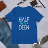 half her deen mockup Front Flat Lifestyle True Royal