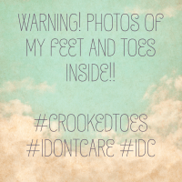 Warning - feet and toe pictures inside