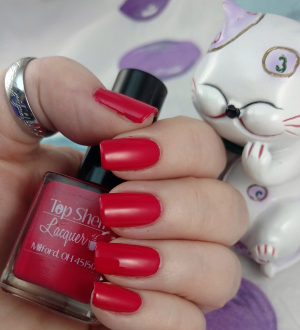 Top Shelf Lacquer Red Hot Valentine