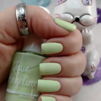 Match a Mint from Love Angeline Chateau Macaron Collection