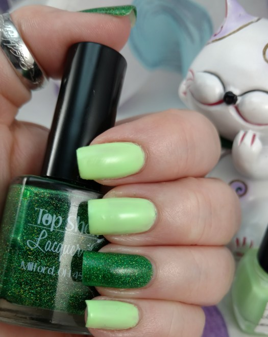 Top Shelf Lacquer Slime Rickey and Grasshopper