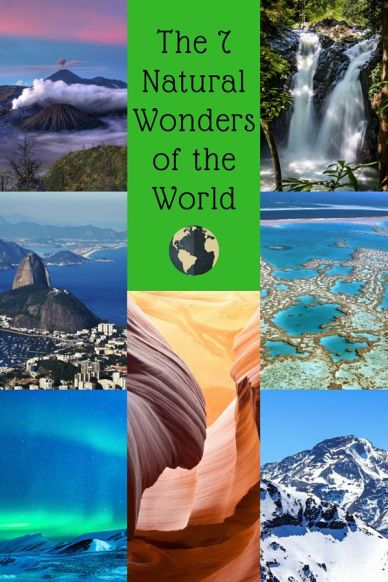 seven natural wonders of the world-