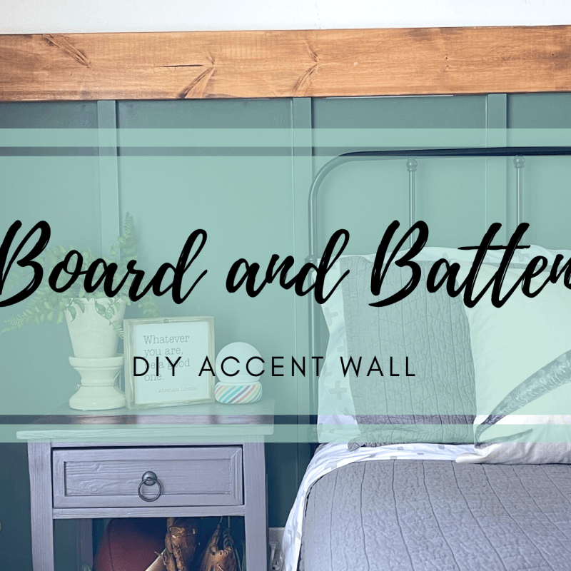 Board and Batten Wall- DIY
