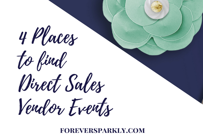 How to Find Direct Sales Vendor Events: 4 Places to Look!
