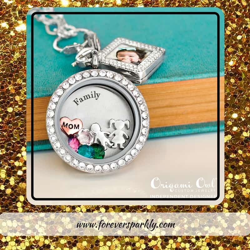 Top Origami Owl 2 - Forever Sparkly