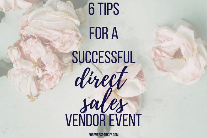 Looking for ways to make your next vendor event the best one yet? Check out these direct sales vendor event tips to make your next event a great success! Kristy Empol