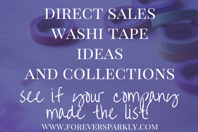 So many uses for washi tape! Come check out these direct sales washi tape ideas and see if your direct sales company has a washi tape collection! Kristy Empol