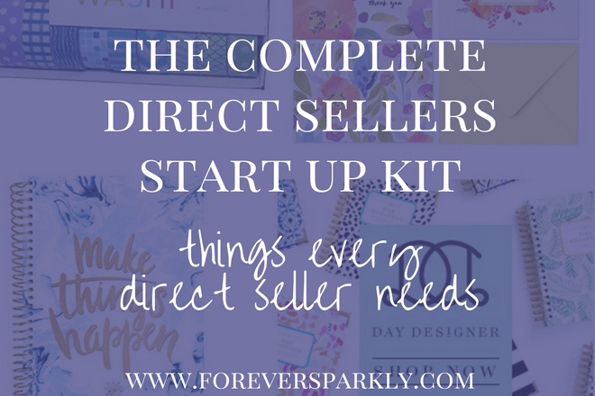 Starting your direct sales journey? Check out the ultimate direct sellers start up kit filled with all of the tools you need to run a successful business! Kristy Empol