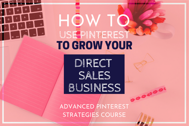 Are you a blogger or in direct sales? Learn how to use Pinterest to its full potential. The Advanced Pinterest Strategies course is for you! Kristy Empol