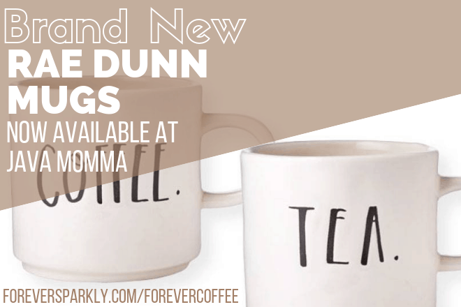 Java Momma Rae Dunn mugs have arrived and the designs are perfect for any coffee, tea, or mug collector. Click to view all the exclusive Rae Dunn designs. Kristy Empol